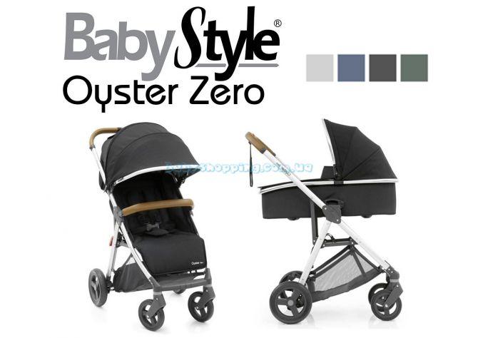 Универсальная коляска 2 в 1 BabyStyle Oyster Zero  ����, �������� | Babyshopping