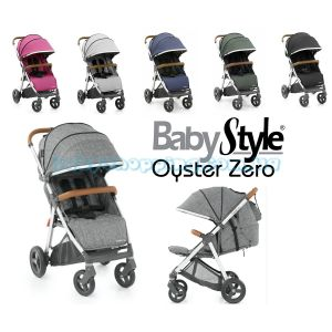 Прогулочная коляска BabyStyle Oyster Zero 2018 фото, картинки | Babyshopping