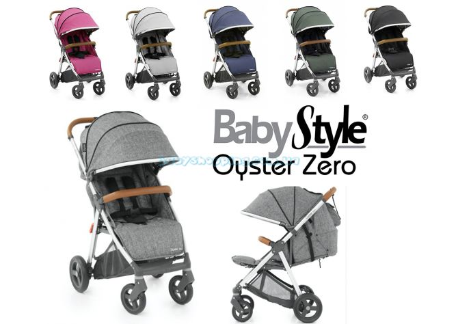 Прогулочная коляска BabyStyle Oyster Zero 2018 ����, �������� | Babyshopping