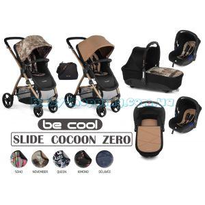 Универсальная коляска 3 в 1 Be Cool Slide Cocoon Zero, 2018 фото, картинки | Babyshopping