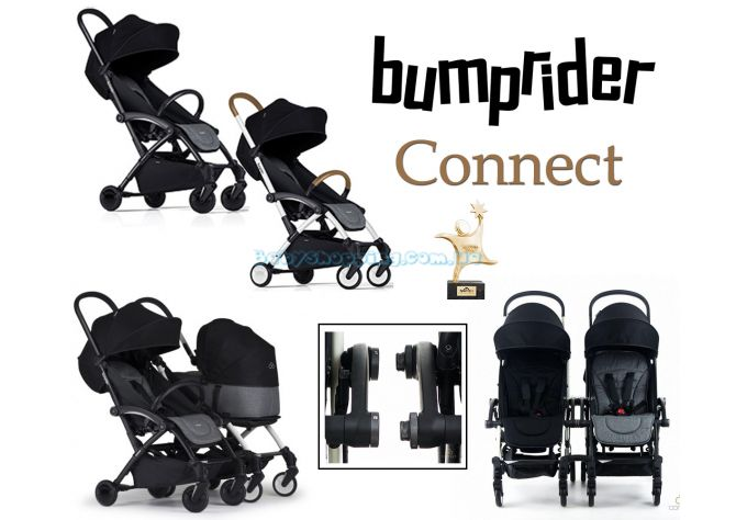 Коляска для двойни Bumprider Connect  ����, �������� | Babyshopping