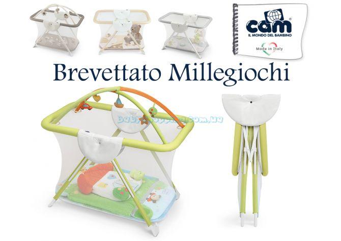 Детский манеж Cam Brevettato Millegiochi ����, �������� | Babyshopping