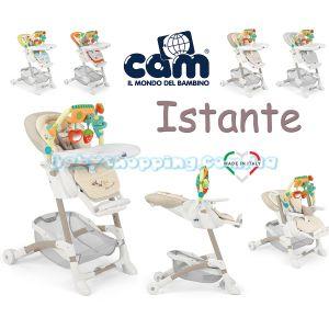 Стульчик для кормления Cam Istante 2019 фото, картинки | Babyshopping