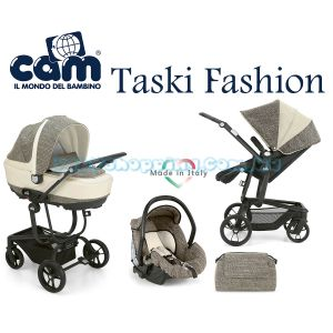 Универсальная коляска 3 в 1 Cam Taski Fashion, 2018 фото, картинки | Babyshopping