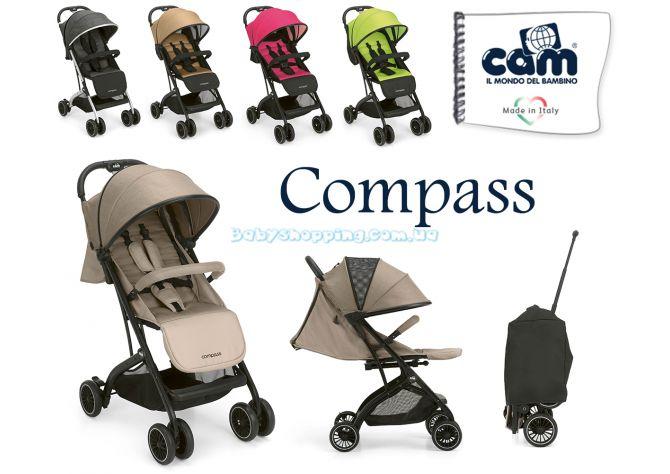 Прогулочная коляска Cam Compass, 2019 ����, �������� | Babyshopping