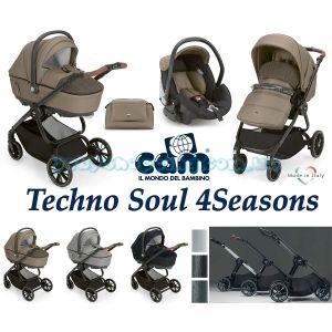 Универсальная коляска 3 в 1 Cam Techno Soul 4Seasons фото, картинки | Babyshopping