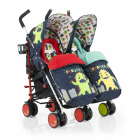 Прогулочная коляска-трость для двойни Cosatto Supa Dupa Twin ����, �������� | Babyshopping