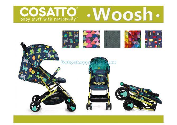 Прогулочная коляска Cosatto Woosh, 2018 + бампер  фото, картинки | Babyshopping