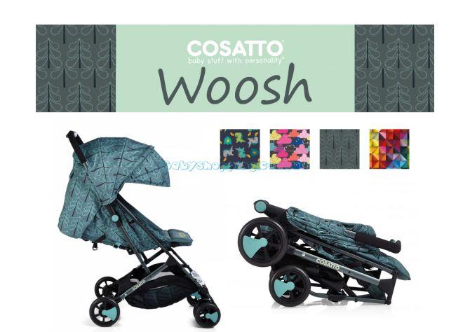 Прогулочная коляска Cosatto Woosh 2018  ����, �������� | Babyshopping