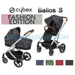 Универсальная коляска 2 в 1 Cybex Balios S Values for life Fashion Collection 2018 фото, картинки | Babyshopping