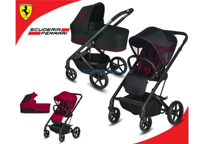 Универсальная коляска 2 в 1 Cybex Balios S for Scuderia Ferrari фото, картинки | Babyshopping