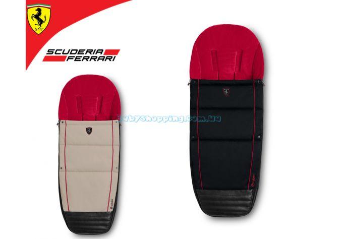 Чехол для ног Cybex Priam Footmuff for Scuderia Ferrari ����, �������� | Babyshopping
