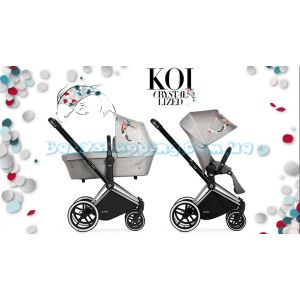 Универсальная коляска 2 в 1 Cybex Priam Koi Crystallized Fashion Collection  фото, картинки | Babyshopping