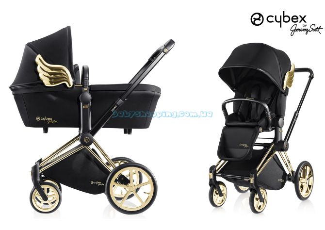 Универсальная коляска 2 в 1 Cybex Priam Wings by Jeremy Scott ����, �������� | Babyshopping
