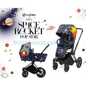 Универсальная коляска 2 в 1 Cybex Priam by Anna K Space Rocket, 2018 фото, картинки | Babyshopping