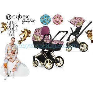 Универсальная коляска 2 в 1 Cybex Priam Cherubs by Jeremy Scott фото, картинки | Babyshopping