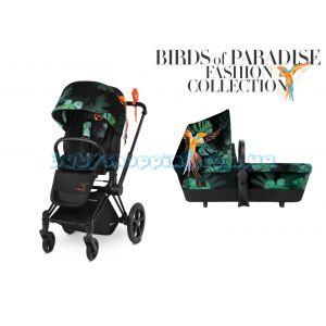 Универсальная коляска 2 в 1 Cybex Priam Birds of Paradise фото, картинки | Babyshopping