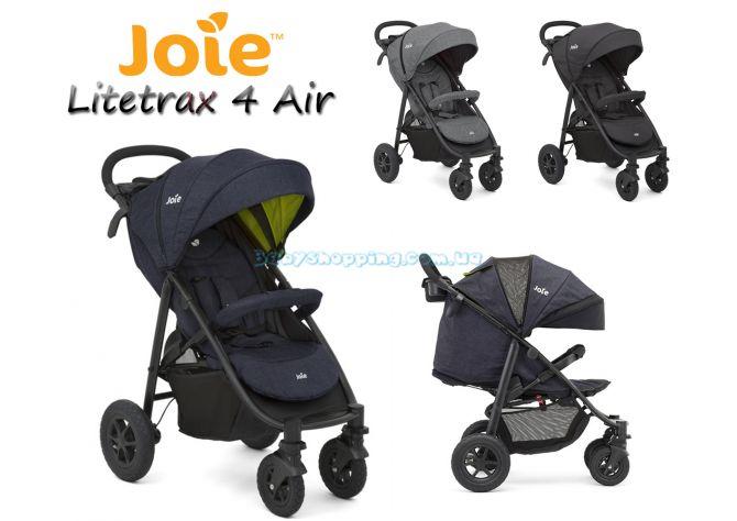 Прогулочная коляска Joie Litetrax 4 Air V2 ����, �������� | Babyshopping