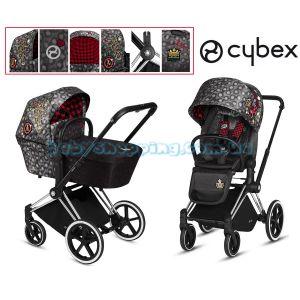 Универсальная коляска 2 в 1 Cybex Priam Lux Rebellious Fashion Collection  фото, картинки | Babyshopping