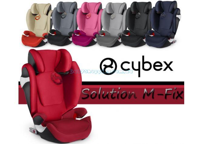 Автокресло Cybex Solution M-Fix, 2018 ����, �������� | Babyshopping