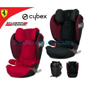 Автокресло Cybex Solution S-Fix for Scuderia Ferrari фото, картинки | Babyshopping