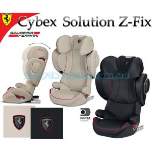 Автокресло Cybex Solution Z-Fix for Scuderia Ferrari  фото, картинки | Babyshopping