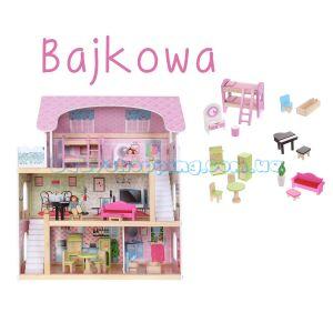 "Кукольный домик ""Bajkowa"" EcoToys ZA-4110 фото, картинки | Babyshopping"