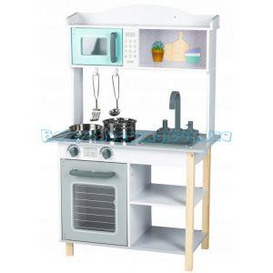 Детская деревянная кухня EcoToys 7256A фото, картинки | Babyshopping