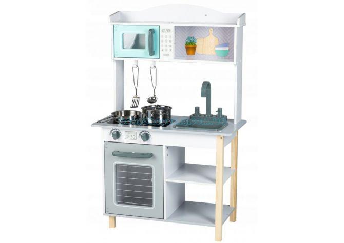 Детская деревянная кухня EcoToys 7256A ����, �������� | Babyshopping