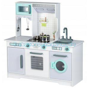Детская деревянная кухня EcoToys 7258A фото, картинки | Babyshopping