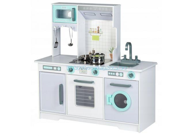 Детская деревянная кухня EcoToys 7258A ����, �������� | Babyshopping