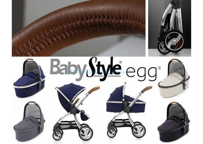Универсальная коляска 2 в 1 BabyStyle Egg ����, �������� | Babyshopping