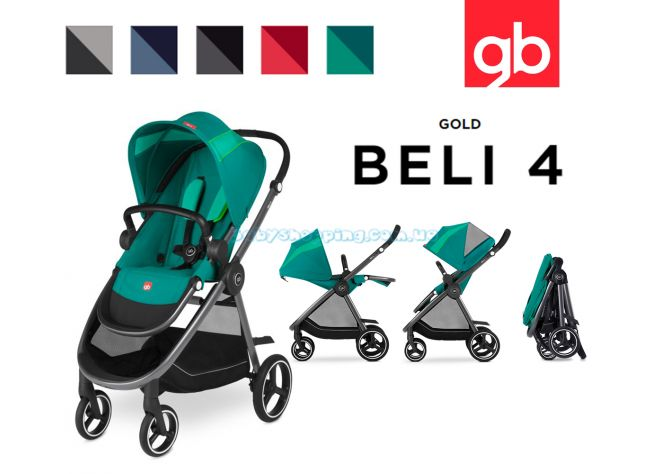 Прогулочная коляска GB Beli 4, 2018  ����, �������� | Babyshopping
