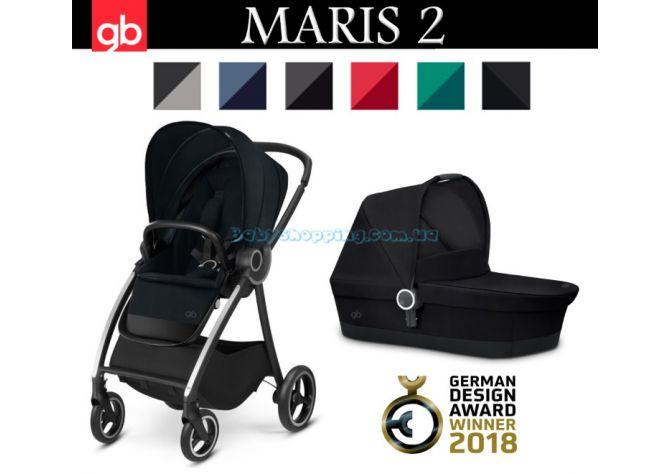 Универсальная коляска 2 в 1 GB Maris 2 , 2018 ����, �������� | Babyshopping