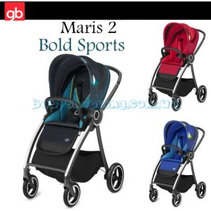 Прогулочная коляска GB Maris 2 Bold Sports Fashion Edition, 2018 фото, картинки | Babyshopping