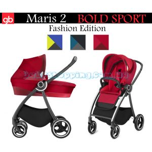 Универсальная коляска 2 в 1 GB Maris 2 Bold Sports Fashion Edition , 2018 фото, картинки | Babyshopping