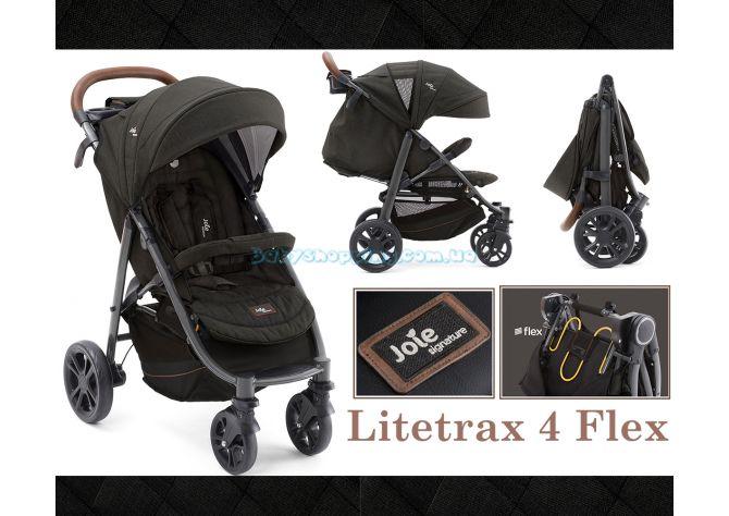 Прогулочная коляска Joie Litetrax 4 Flex, 2018 ����, ��������   Babyshopping