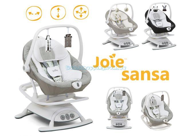 Кресло-качалка 2 в 1 Joie Sansa, 2018 ����, �������� | Babyshopping
