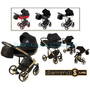 Універсальна коляска 2 в 1 Junama Diamond S Line фото, картинки | Babyshopping