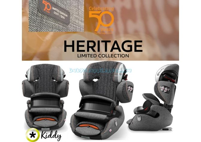Автокресло Kiddy Guardianfix 3 Heritage , 2018 ����, �������� | Babyshopping
