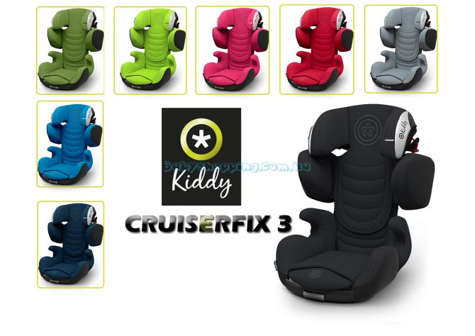 Автокресло Kiddy Cruiserfix 3 , 2018 ����, �������� | Babyshopping