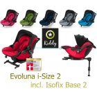 Автокресло Kiddy Evoluna i-Size 2 и база Isofix Base 2 , 2018 ����, ��������   Babyshopping