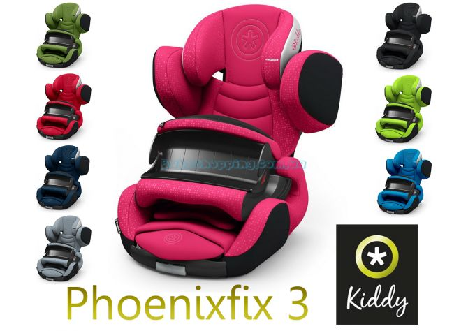 Автокресло Kiddy Phoenixfix 3, 2018  ����, �������� | Babyshopping