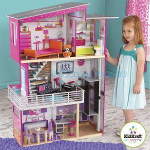 "Кукольный домик ""Beverly Hills"" KidKraft 65871 фото, картинки | Babyshopping"
