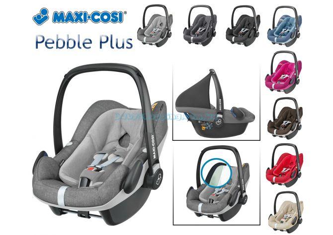 Автокресло Maxi-Cosi Pebble Plus I-Size , 2018 ����, �������� | Babyshopping