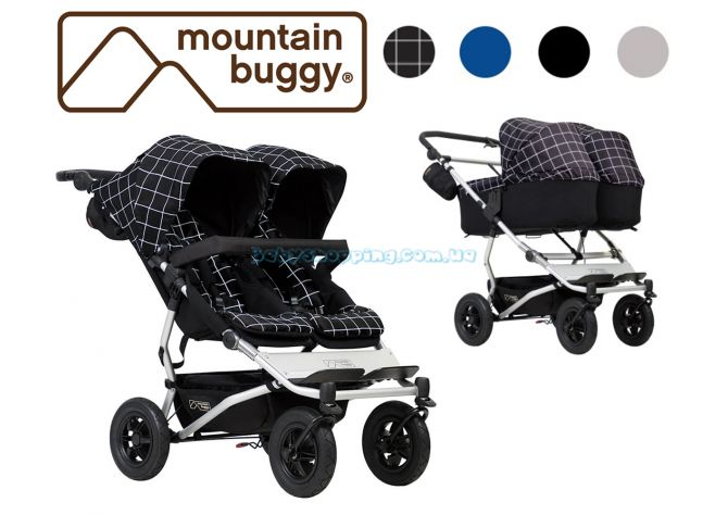 Коляска для двойни 2 в 1 Mountain Buggy Duet 3.0 ����, �������� | Babyshopping