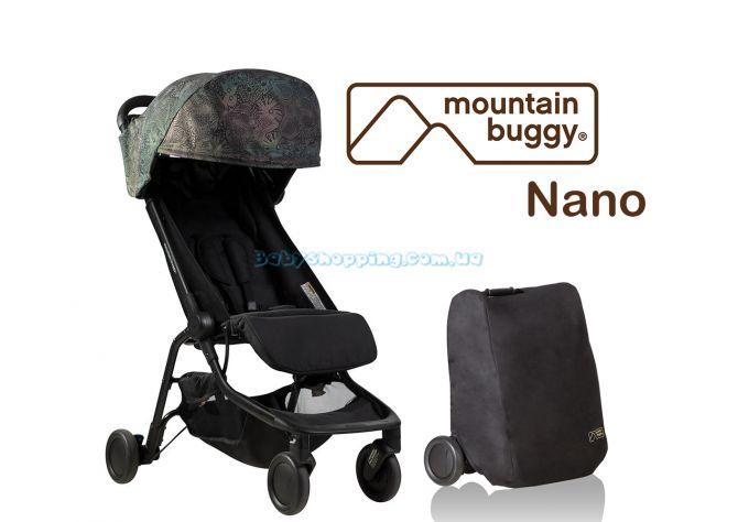 Прогулочная коляска Mountain Buggy Nano Year of the Dog , 2018 ����, �������� | Babyshopping