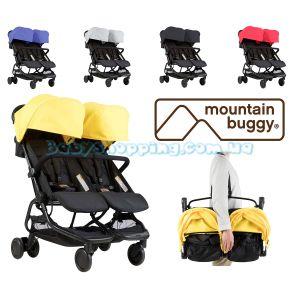 Прогулянкова коляска для двійні Mountain Buggy Nano Duo фото, картинки | Babyshopping