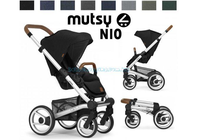 Прогулочная коляска Mutsy Nio 2020 шасси Silver ����, �������� | Babyshopping