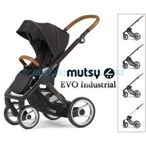 Прогулочная коляска Mutsy Evo Industrial, 2018 фото, картинки | Babyshopping